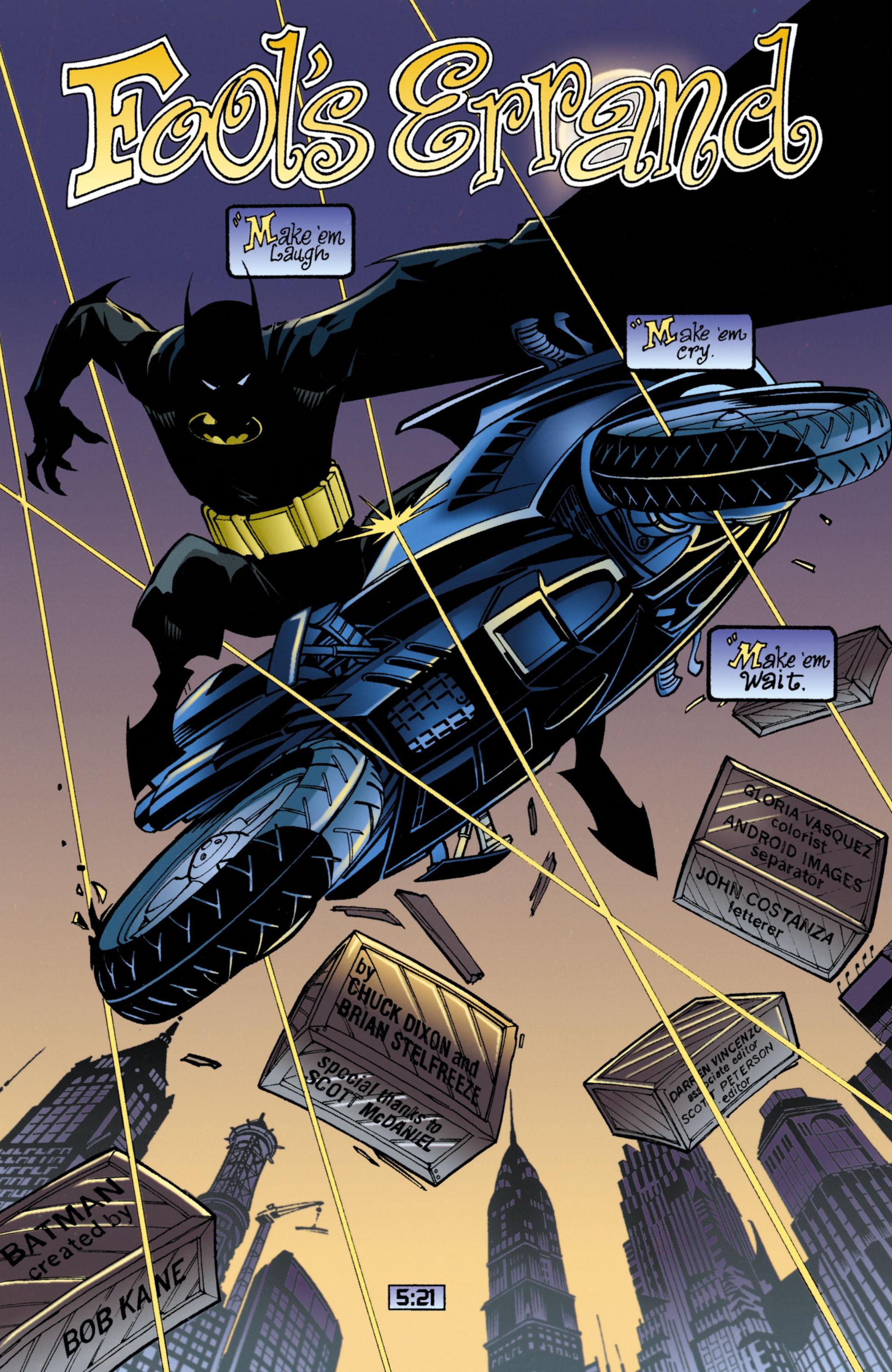Detective Comics (1937) 726 Page 1
