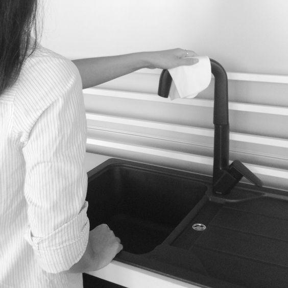Cleaning Matte Black Tapware