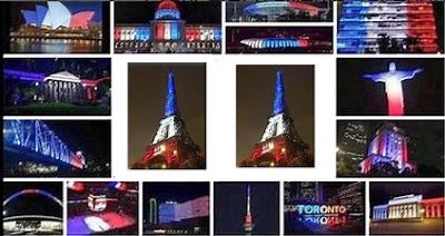Attentats à Paris : un  drapeau tricolore pour une France éternelle dans Culture plan%25C3%25A8te%2Bbbr