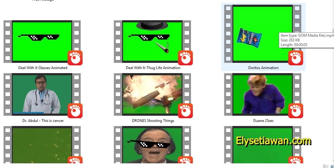 BAHAN Video Editing youtuber, Memes, Green Screens, Sound