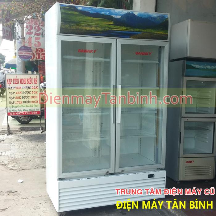 Tủ mát cũ Sanaky 1000L lít, Bảo hành 12 tháng