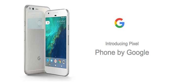 HP Android Nougat - Google Pixel