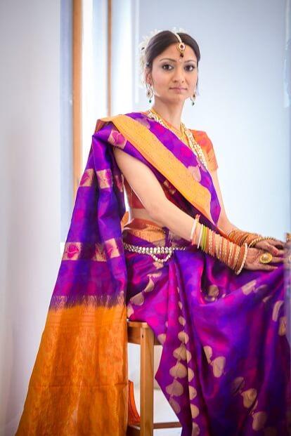Colourful Bangalore Saree