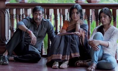 Drishyam, Movie Poster, Starring Ajay Devgn, Tabu, Shriya Saran, Rajat Kapoor, Directed by Nishikant Kamat