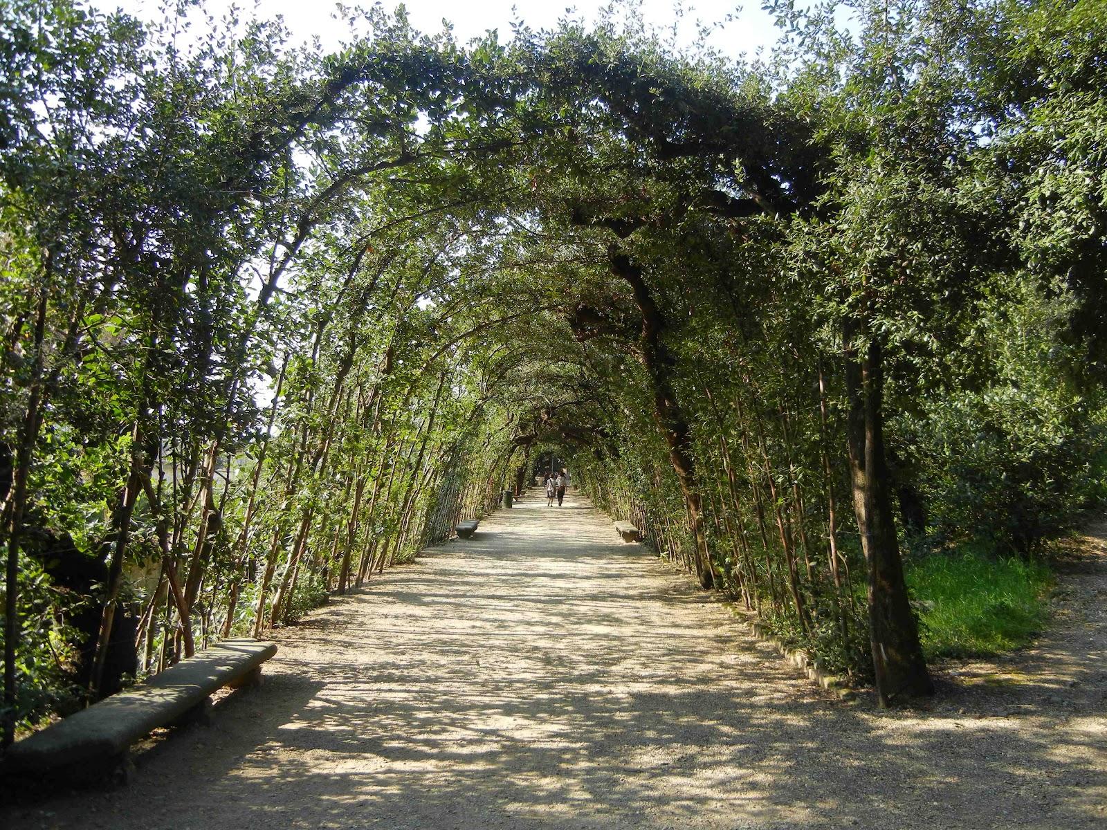 Io amo firenze una domenica pomeriggio a boboli - Ingresso giardino ...
