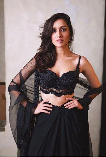 Shraddha-Kapoor- Black -dress