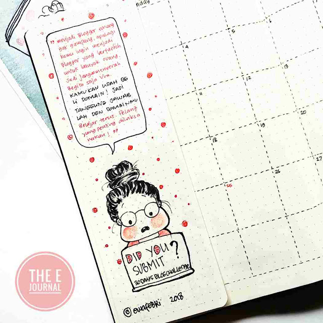 Ewafebri Bullet Journal December 2018
