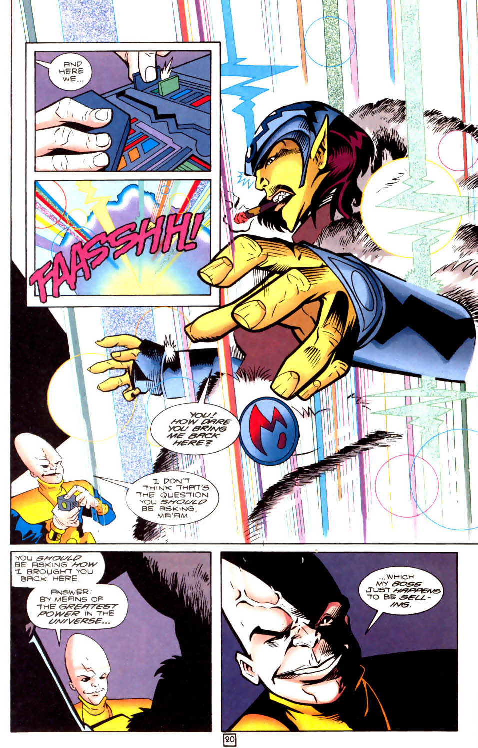Legion of Super-Heroes (1989) 104 Page 20