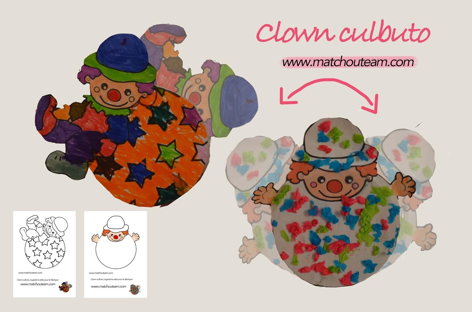 clown pour le carnaval