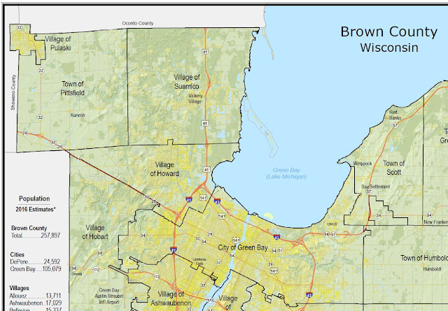 Brown County GIS / Land Information Office: New Brown County