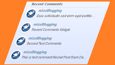 recent comments gadget siam dan