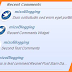 Blogger ah Recent Comments Widget Siam Dan