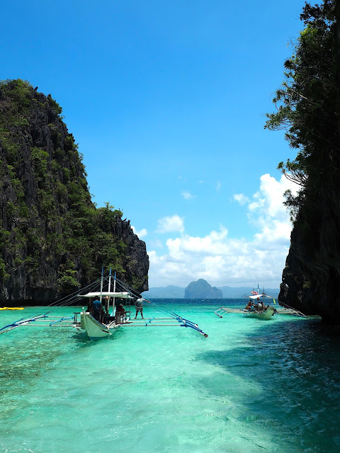 Lagoon in Bacuit Bay, El Nido, Palawan, Philippines