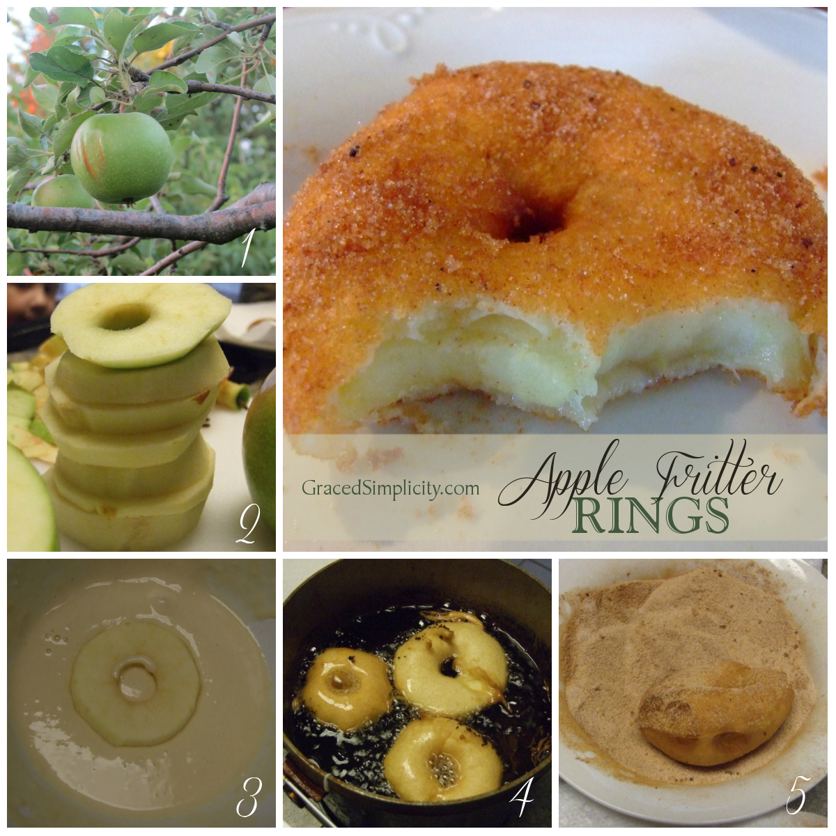 Apple Fritter Rings Recipe Dishmaps