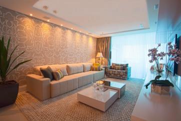 Construindo minha casa clean consultoria de decora o for Modelos de salas de estar para casas