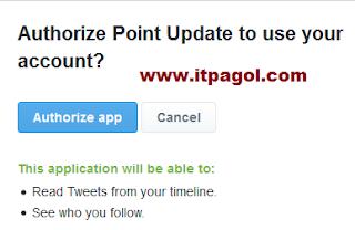 Click Authorize App.