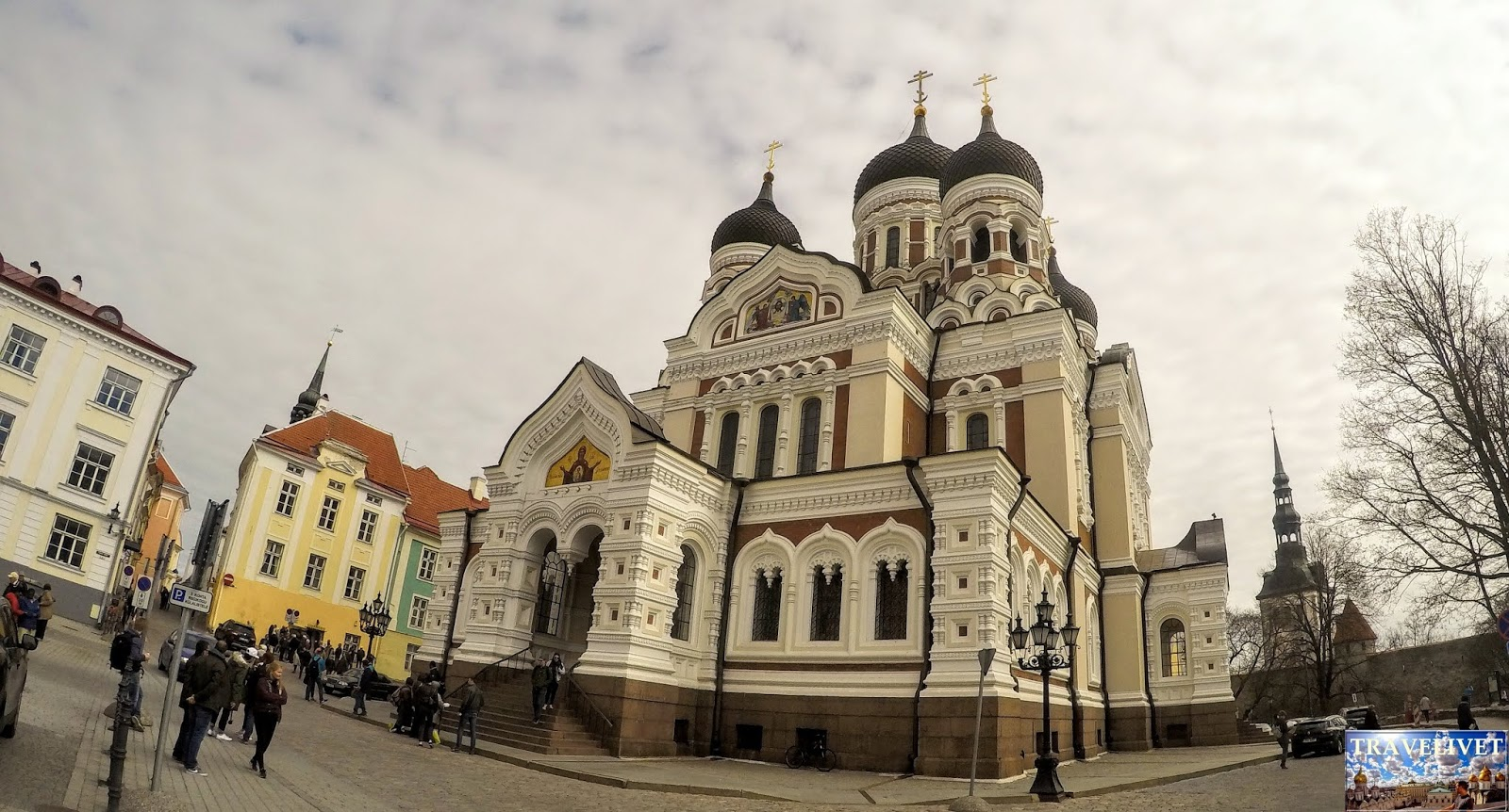 Estonie  Tallinn Cathédrale Alexandre Nevski