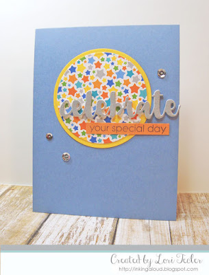 Celebrate Your Special Day card-designed by Lori Tecler/Inking Aloud-stamps from SugarPea Designs