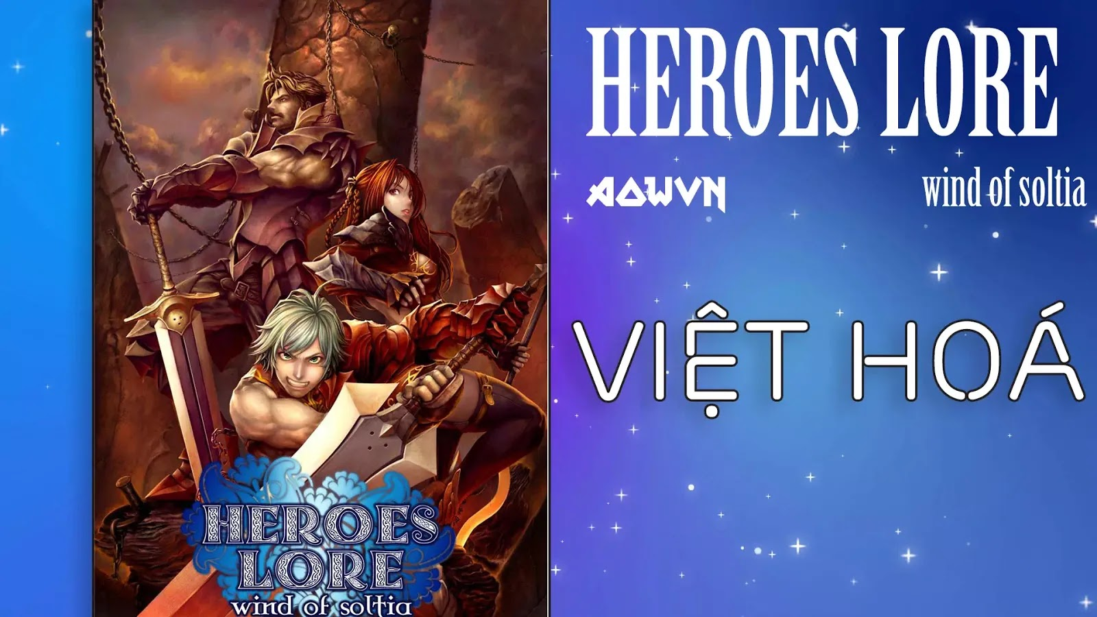 heroes lore wing aowvn - [ Java ] Heroes Lore Wind of Soltia & Zero | Việt Hoá - Giả Lập PC Android