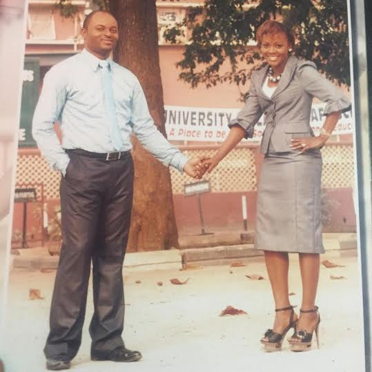 Helen Paul & her hubby, Femi Bamisile in throwback photos