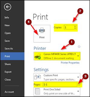 Computer print kaise nikale