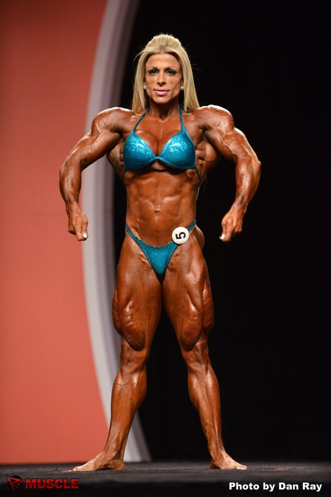 Female Bodybuilder Anne Freitas - 2012 IFBB Ms. Olympia - 8th Place