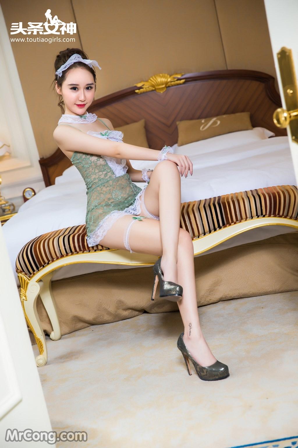 Image MrCong.com-TouTiao-2016-12-15-Wang-Yue-002 in post TouTiao 2016-12-15: Người mẫu Wang Yue (王悦) (17 ảnh)