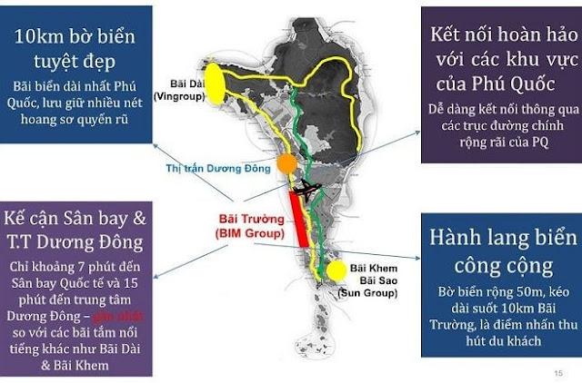 Vị trí Condotel BIM Group Phú Quốc Marina