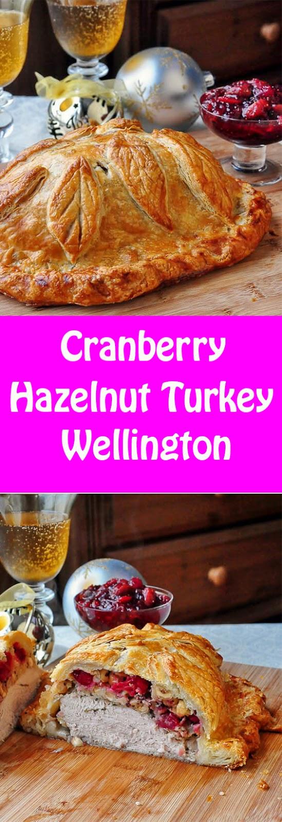 Cranberry Hazelnut Turkey Wellington