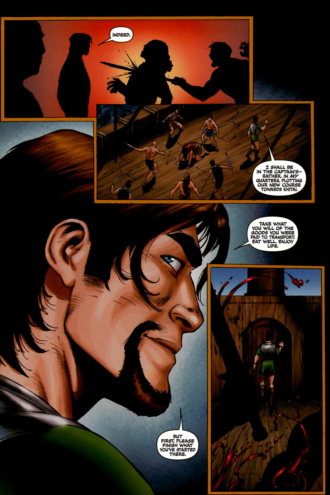 Read online Red Sonja (2005) comic -  Issue #44 - 25