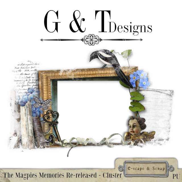 G&T Designs - The Magpies Memories re-released & Freebie
