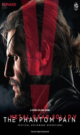 cover.metal gear solid v the phantom pain.875x1080.2015 09 06.203 - Metal Gear Solid V The Phantom Pain v1.0.7.1/v1.10 + All DLCs