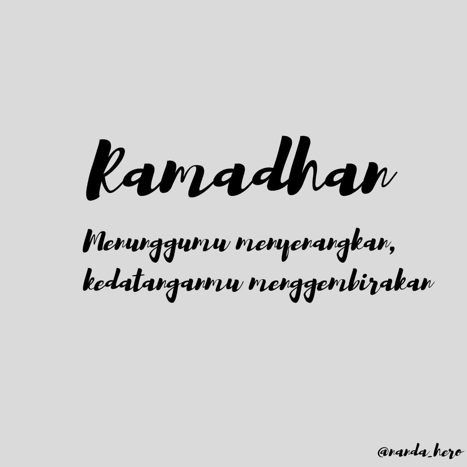 kata-kata menyambut ramadhan 2018 2019