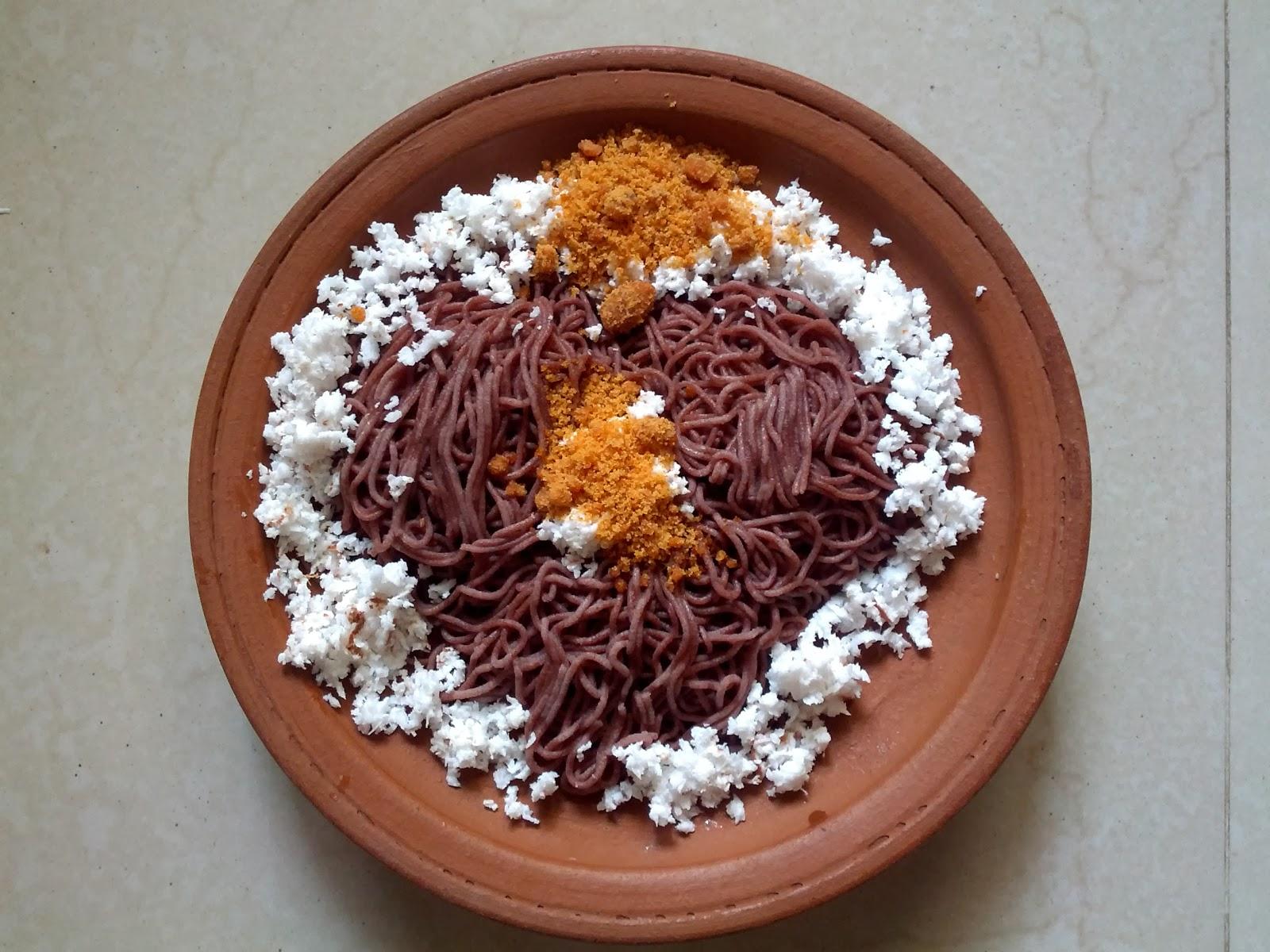 Kavuni rice String Hopper