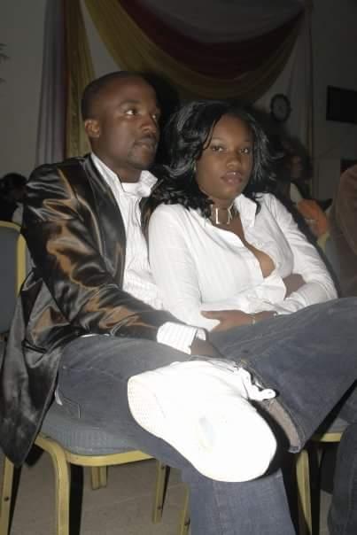 Throwback of Popular Nigerian Artiste Iyanya With His Ex Girlfriend at Sporadic Awards Night 2009