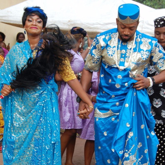 nollywood actor frederick leonard marries actress kay