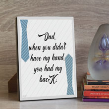 Buy Tabletop Father's Day Gift Plaque in Port Harcourt, Nigeria