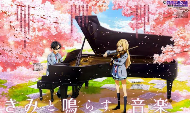5 anime bergenre musik paling bagus - artikel