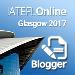 Registered Blogger for 2017 IATEFL Online
