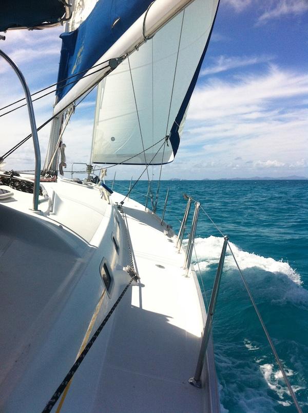 The Desha Show Yoga Amp Sailing In The British Virgin Islands