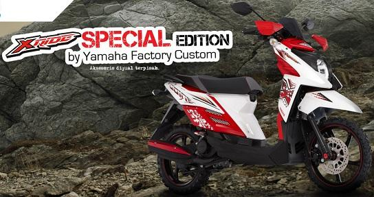 Yamaha X Ride Special Edition Adventure  paling bagus
