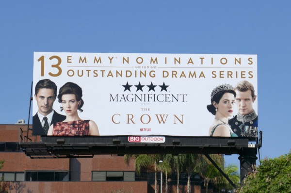 Crown season 2 Emmy nominations billboard