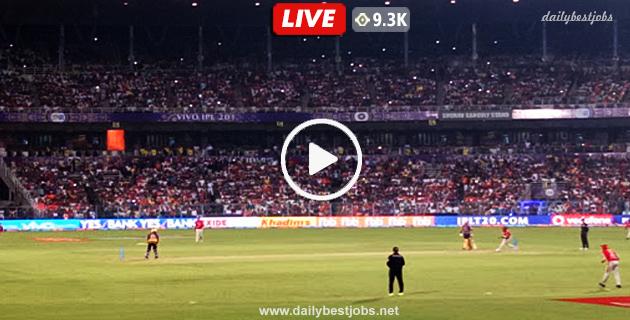 KKR Vs KXIP Live Streaming 6th T20 Live Cricket Score IPL 2019