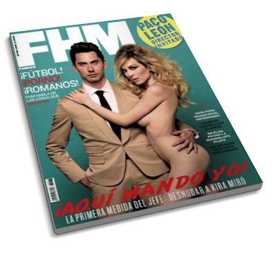 FHM: ¡Aqui Mando yo! – Mayo 2011