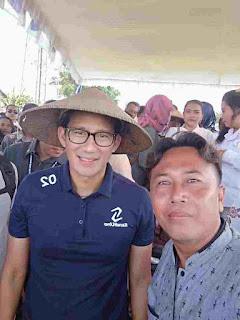 Sandiaga uno Datang Teriakan Jokowi Lantang di Sukomoro Nganjuk