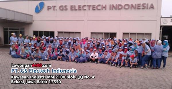 Lowongan Kerja PT. GS Electech Indonesia MM2100