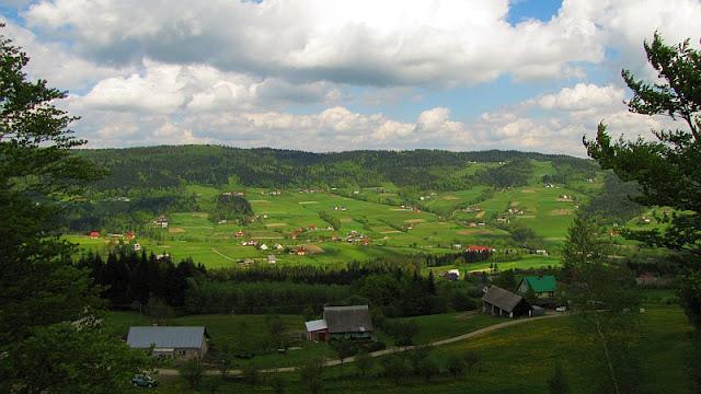 Dolina potoku Jastrzębik.