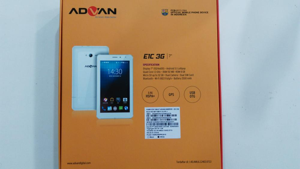 Download Firmware Advan E1C 3g