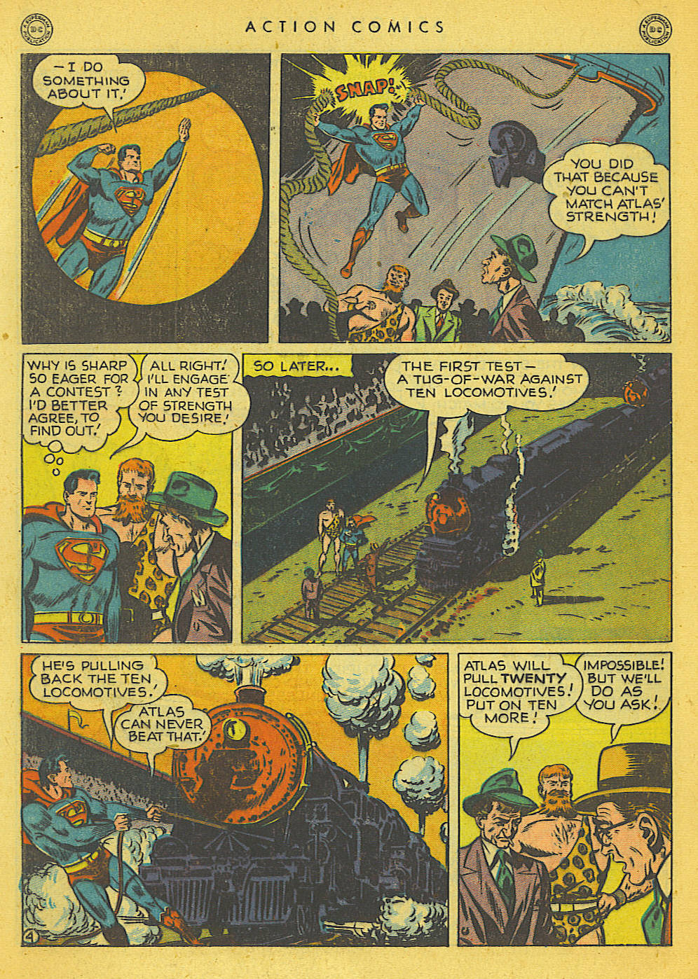 Action Comics (1938) 121 Page 4