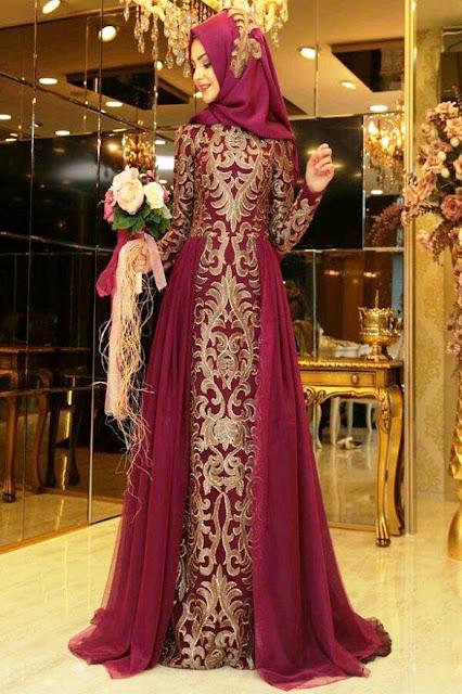 Inspirasi Gaun Muslimah Cantik dan Trendy 2001618